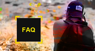 Photography - Frequently asked questions