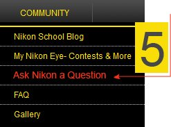 Ask Nikon a Question